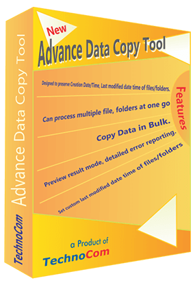Advance Data Copy Tool