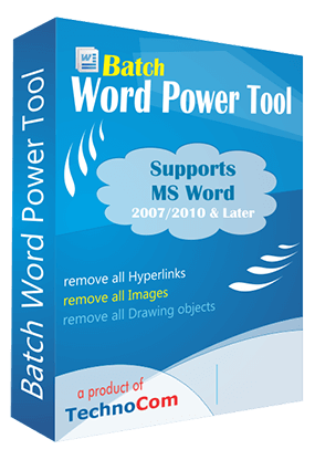 Batch Word Power Tool