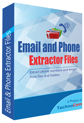 Email and Phone Extractor Files | Files Number Extractor