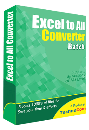Excel to All Converter Batch