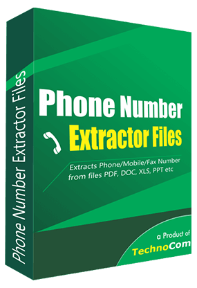 Phone Number Extractor Files
