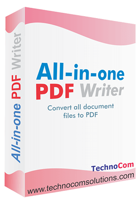 All in One PDF Writer