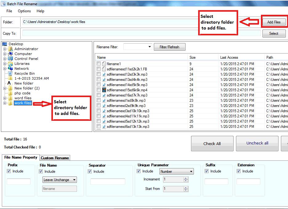 Windows 7 Batch File Rename 1.5.1.15 full