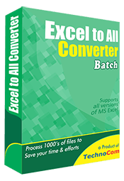 Excel to All Converter