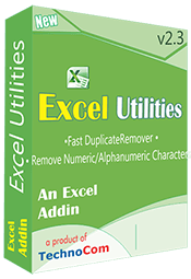 Excel Utilities is a unique utility for Excel, has solution of all tedious task.