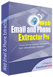Web Email and Phone Extractor Pro