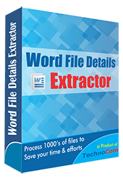 Word File Details Extractor