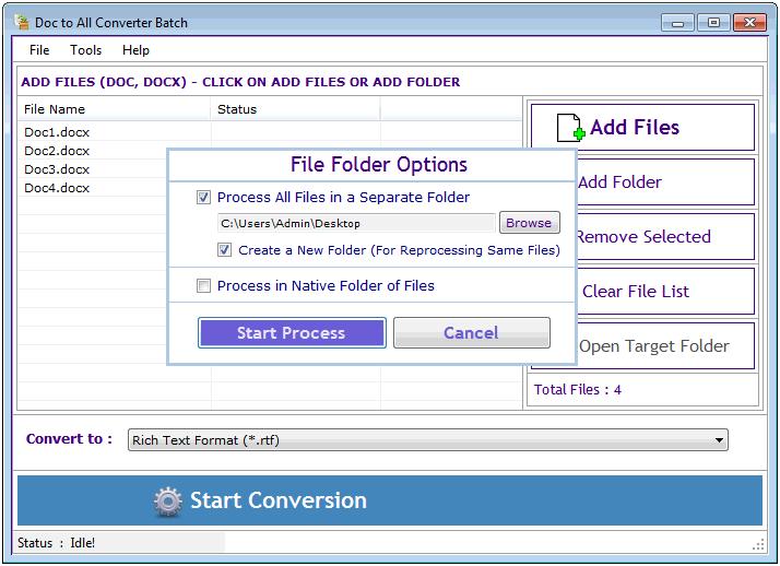 Windows 7 Doc to All Converter Batch 3.1.2.6 full