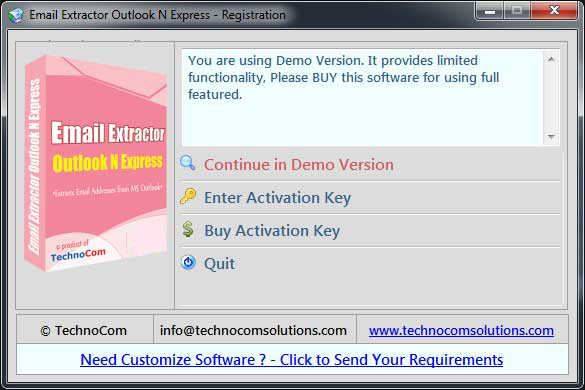 Email Extractor Outlook N Express