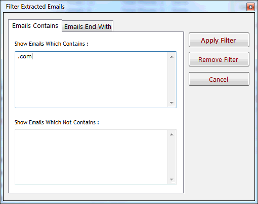 Email and Phone Extractor Files