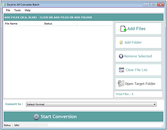 Windows 7 Excel to All Converter Batch 3.2.3.7 full