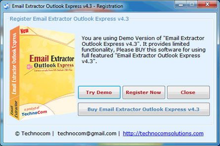 Email Extractor Outlook Express