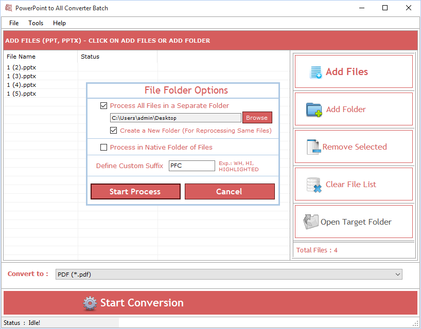 PowerPoint to All Converter Batch